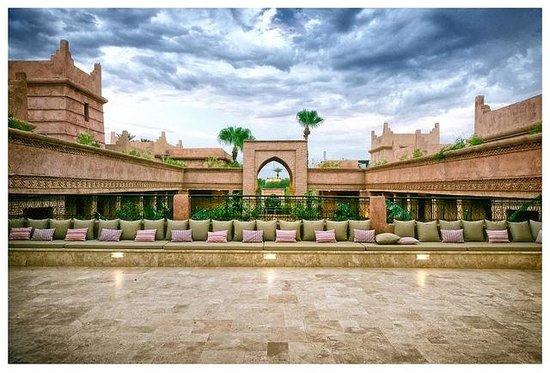 Tigmiza - Suites & Pavillons : Une terrasse