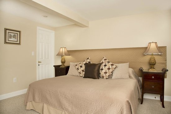 Glynn House Inn: Lincoln Garden Apartment - king bed or two singles