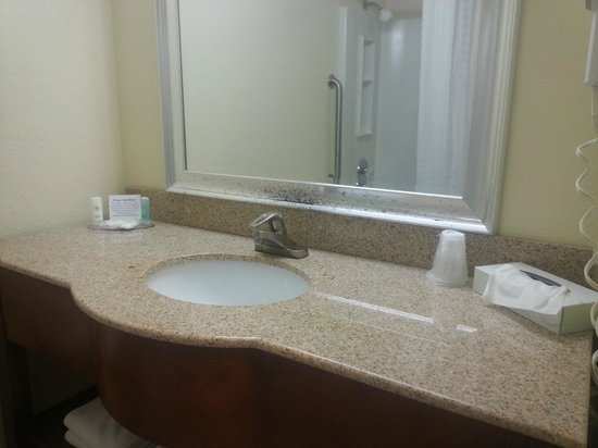 Holiday Inn Express Harrisburg SW-Mechanicsburg: Bathroom vanity