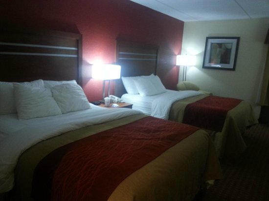 Holiday Inn Express Harrisburg SW-Mechanicsburg: Modern, Comfortable Queen Beds