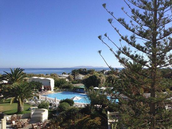 Agapi Beach Hotel: uitzicht zeezicht kamer