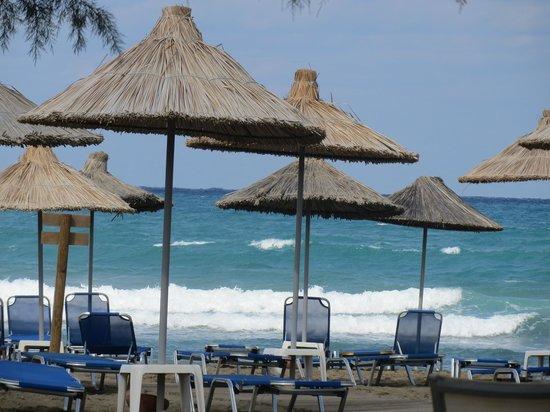 Agapi Beach Hotel: aan het zandstrand
