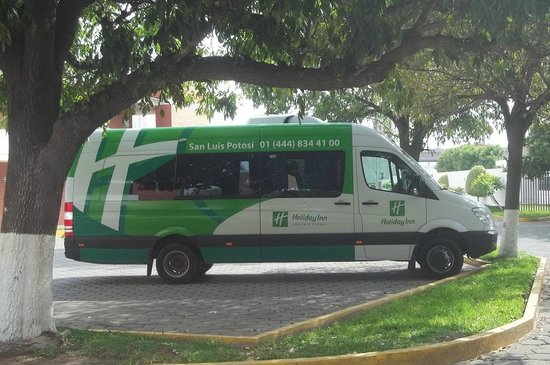 Holiday Inn San Luis Potosi Quijote: Free Airport Transfers, with direct service from the Holiday Inn Quixote