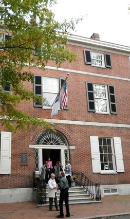 Physick House: view from across the street