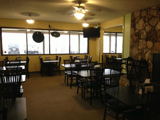 My Boys pizza: Back Dining Room Used for parties