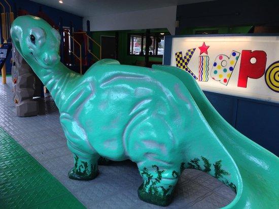My Boys pizza: Dino the Dinosaur