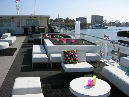 Lounge Furniture On Sundeck Of Endless Dreams Picture Of