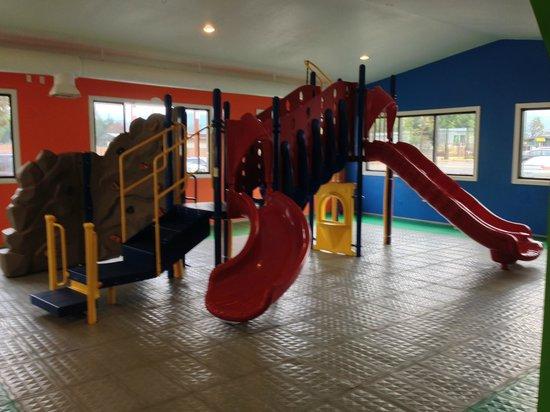 My Boys pizza: 2,000 sq ft playroom