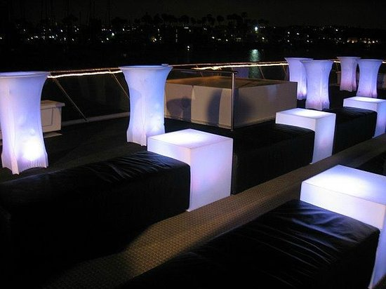 Hornblower Cruises & Events: Glow Furniture on Endless Dreams