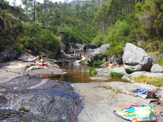 Pozas Do Rio Pedras Picture Of Piscinas Naturales Del Rio Pedras A Pobra Do Caraminal Tripadvisor