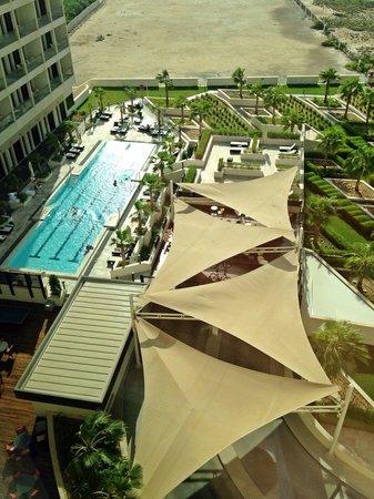Staybridge Suites Abu Dhabi Yas Island: الغرف معظمها مطلة على البحر.