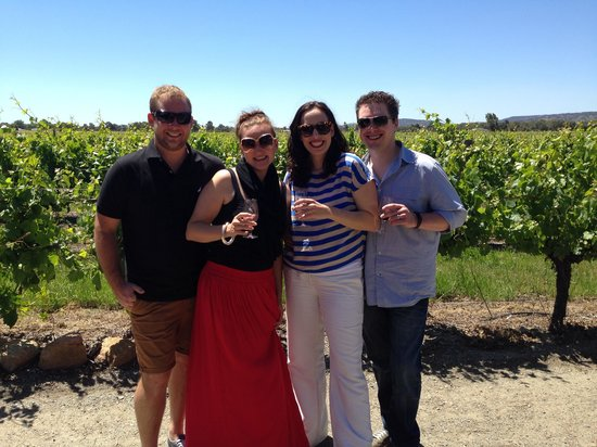 Out & About Wine Tours: Fantastic view at Windy Creek