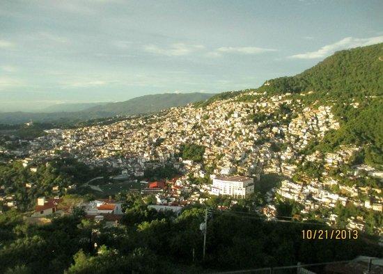 De Cantera y Plata Hotel Boutique: View of Taxco