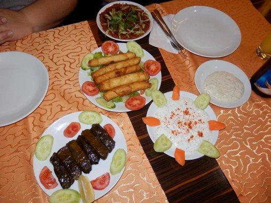 Sultan Sofrasi Restaurant: Starters