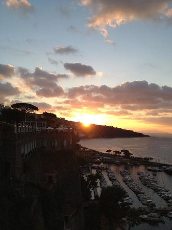 Grand Hotel Royal: This is the view from one of the terraces...what is there to say!!