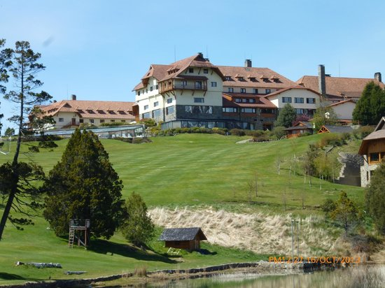 Llao Llao Hotel and Resort Golf Spa: ala izquierda hotel