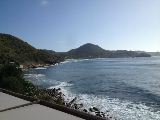 Christopher St Barth: view from poolside