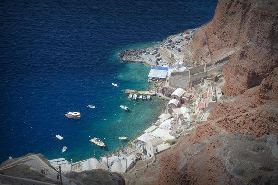 Санторини, Греция: Ammoudi Port, Santorini