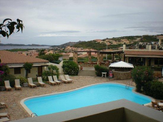Hotel Palau: Vista da piscina