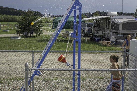 South Haven Yogi Bear's Jellystone Park™ Camp-Resort : Water Wars Water Balloon Launch