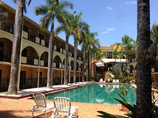 Palm Royale Cairns: the lap pool