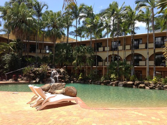 Palm Royale Cairns: one of the three pools