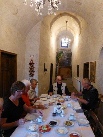 Upper Greek House : Breakfast Day 2