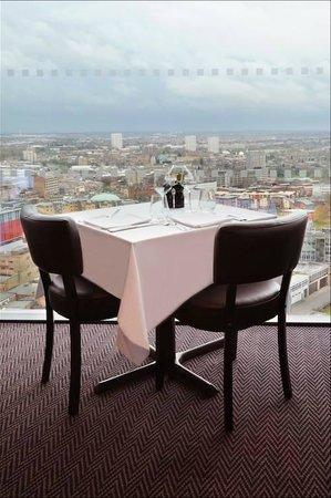 Marco Pierre White Steakhouse Bar & Grill: Table for 2....Window View