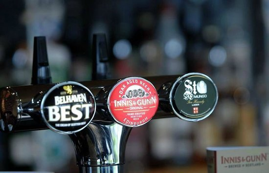 Leadburn Inn: Some of our local Draught Beers