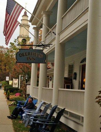 Deerfield Inn front porch