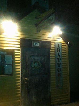 Trattoria Delia: front door