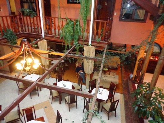 Hotel Coronel \: vista do restaurante