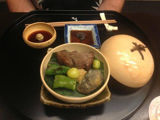 Kyoto Kitcho Hotel Granvia-branch: Meat course