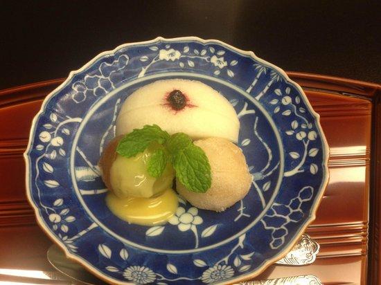 Kyoto Kitcho Hotel Granvia-branch: Dessert