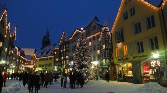 White Christmas In Germany.White Christmas Picture Of Wertheim Baden Wurttemberg