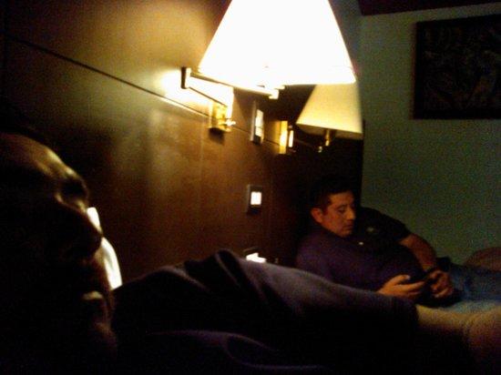 Hotel Luna Azul: En la habitación descansando