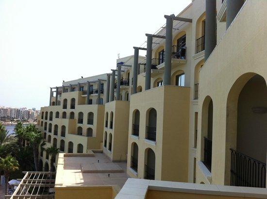 Hilton Malta: Blick vom Balkon