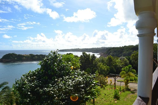 Calibishie Cove: another view from the patio