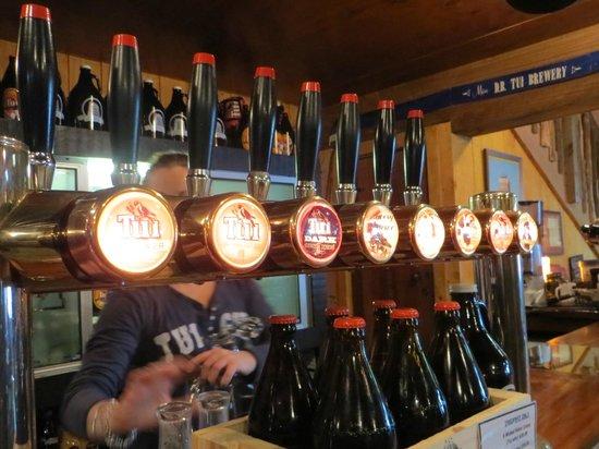 Tui Brewery : So many choices!
