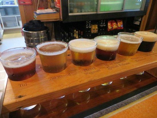 Tui Brewery : Beer flight