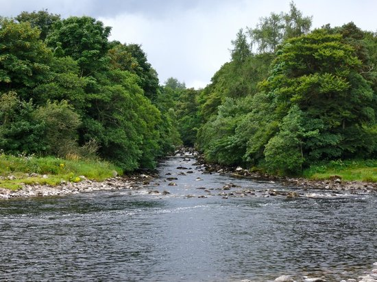 Banchory Lodge: View of the River Dee, view from our room