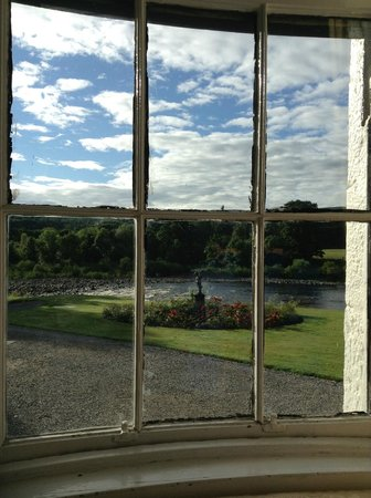Banchory Lodge: View from the dining room