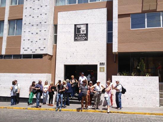 Casa Andina Standard Arequipa: Hotel casa andina Arequipa