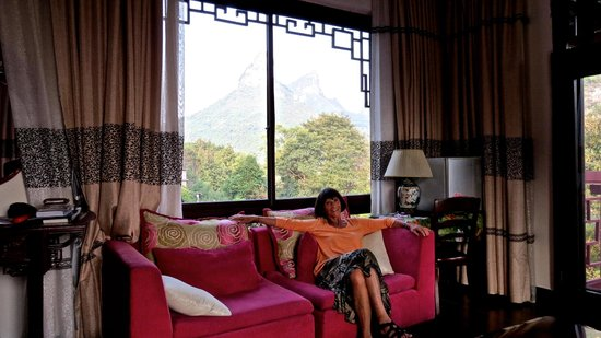Li River Resort : room and view from room