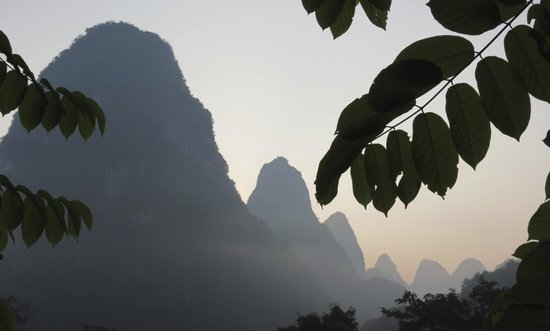 Li River Resort : view from a stair well