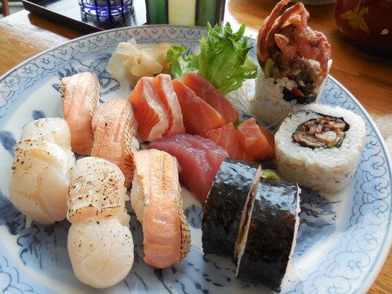 Haruka Japanese Cuisine: Assorted Sushi & Sashimi
