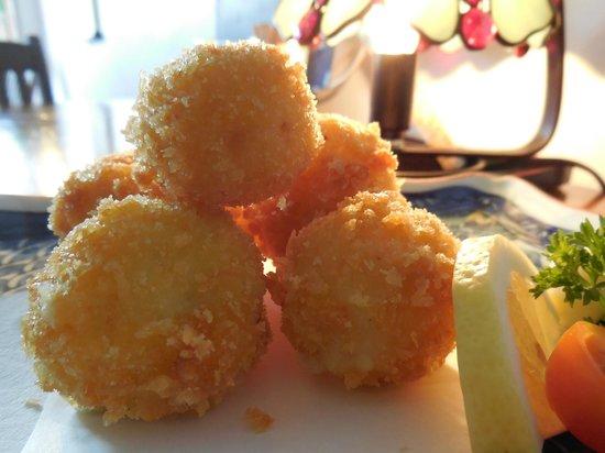 Haruka Japanese Cuisine: Homemade Cream Croquette