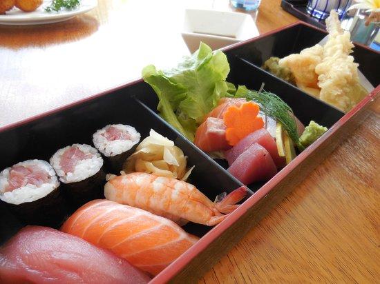 Haruka Japanese Cuisine : Lunch menu Haruka Gozen