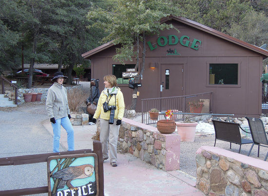 Santa Rita Lodge: Lodge Office and Gift Shop