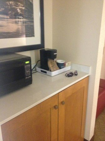 SpringHill Suites San Antonio Downtown/Riverwalk Area: The living room area